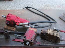 farmall 400 powersteering pump yesterday's tractors Farmall 240 Hydraulic System Diagram picture of a behlen pump picture of a behlen power steering unit mounted in the steering shaft on a 350 400 has different retaining braces but mounts Farmall 666 Hydraulic Diagram