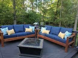 diy outdoor furniture couch. Plain Diy Diy Outdoor Furniture Couch Intended B