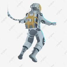 Astronaut Character Design Cartoon Hand Drawn Aerospace Astronaut Character Design