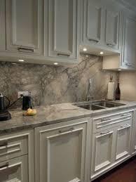quartz kitchen countertops white cabinets. White Cabinets And Grey Quartz Counters A Backsplash For Stylish Statement Kitchen Countertops N