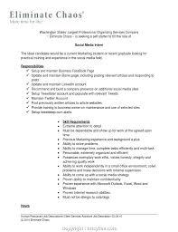 Downloadable Social Media Job Posting Examples Social Media