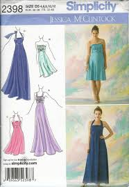 Prom Dress Sewing Patterns Magnificent Halter Top Prom Dress Sewing Patterns MarryKing