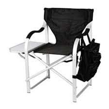 Stylish Camping Heavy Duty Full Back Folding Director s Chair