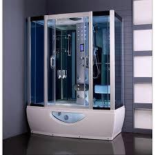 creative design steam shower with whirlpool tub smart inspiration aquaplus 1650mm x 800mm cabin bath