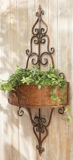 wall planter plant stands outdoor