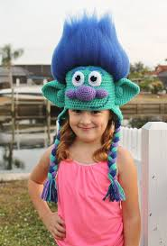 Trolls Crochet Hat Pattern Unique Get Your Hair In The Air With This Amazing Happy Branch Crochet Hat