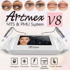 Artmex V8 постоянный тату машинка для макияжа бровь