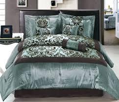 brown bedding sets queen brown comforter set amazing blue and brown comforter set teal and brown brown bedding sets