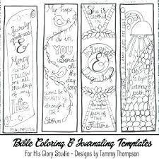 Bookmark Coloring Pages Free Printable Coloring Bookmarks Printable Religious