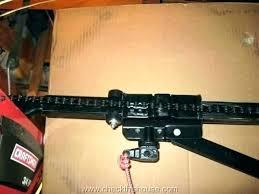 garage door opener adjust how to adjust a garage door align garage door sensors adjusting garage garage door opener adjust