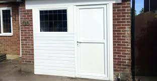 garage door conversion replace garage door with french doors
