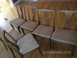 kid friendly oilcloth dining chairs tutorial jessconnell com