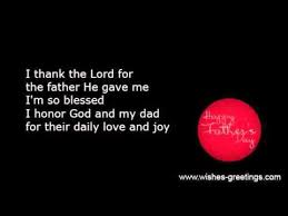 Christian Quotes About Dads Best of Religious Christian Fathers Day Poems And Verses YouTube