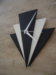 home kitchen art deco style clock
