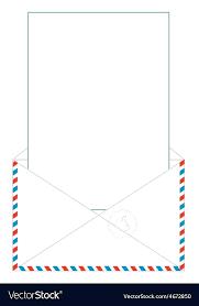 Free Envelope Template Wedding Planning Airmail Printable
