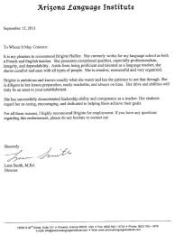 Letter Of Recommendation Sle Masters Degree Introduction