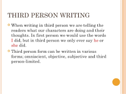 writing an essay in third person co writing an essay in third person writing workshop writing an essay in third person
