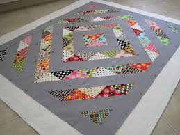 275 best Baby Play Mats images on Pinterest | Activities for ... & Quilts make great play mats for baby. This is a modern gender-neutral baby  quilt/play mat made with half square triangles and grey. Adamdwight.com