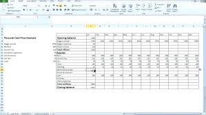 Personal Cash Flow Statement Template Excel Cash Flow Statement Excel Template Inspiration Beautiful