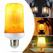 Light Bulbs That Look Like Fire Details About E27 Led Flicker Flame Light Bulb Simulated Burn Fire Effect Lamp Festival Party