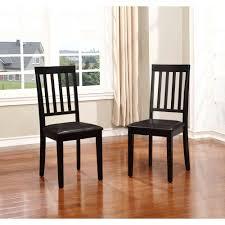 Linon Home Decor Cayman Black Dining Chair Set of 2 WAL02U
