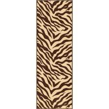 kings court zebra 2 ft 7 in x 12 ft