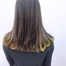 ロングさんはインナーカラーでこなれヘアに組み合わせカラー提案