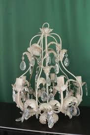 chandelier light lamp dangling crystal glass
