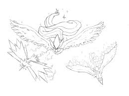 Legendary Pokemon Coloring Pages Coloring Pages Printable Coloring