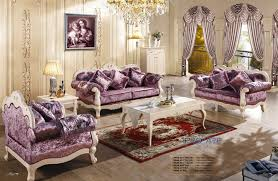 purple living room furniture. 3+2+1 Purple Fabric Sofa Set Living Room Furniture,modern Wooden Sex Furniture From China Market PRF611-in Sofas On I