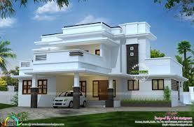 Kerala Flat Roof House Design 2995 Square Feet 3 Bedroom Flat Roof House Flat Roof House
