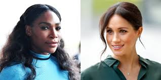 serena williams sends meghan markle specially made pieces from her fashion line serena