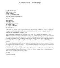 Cover Letter For Pharmacy Assistant Pharmacy Technician Sample Cover