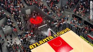 Hawks Seating Chart 2017 Atlanta Hawks Unveil Philips Arena Transformation Plan Cnn
