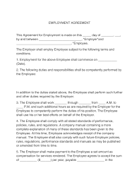 Employment contracts are between employers that hire and pay an employee, independent contractor, subcontractor, or freelancer. 40 Great Contract Templates Employment Construction Photography Etc