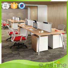office partition for sale. Hot Sale Frameless Glass Office Partition System Melamine Board Modern Four People For