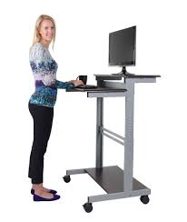 standing computer desk workstation stand up 1