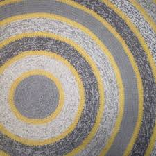 amazing gray and yellow kitchen rugs with crochet round rug on wanelo