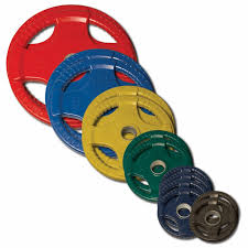 body solid colored rubber olympic weight plate set 255lbs 30 png
