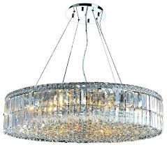 modern round crystal chandelier cascade light chrome finish and clear crystal d round large crystal chandelier