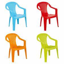 children garden chair stackable plastic