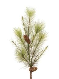 Pack of 12 Mixed Pine Foliage with a Pine Cone & Berries