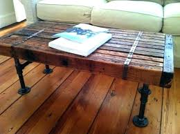table galvanized pipe coffee table furniture leg enter home diy