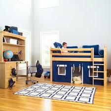 wondrous underbed curtain plus maxtrix kids twin low loft bed in