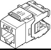 bulk cat cable plenum and non plenum cat cate and cata bulk leviton quickportacircreg 61110 category 6 extreme connector rj 45 jack