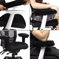 2pcs chair armrest pads ultra soft memory foam elbow pillow suppor fit for home office