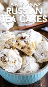 If you're headed to russia for the christmas and new year period, you're going to have a great time. Mom S Russian Tea Cakes Crazy For Crust