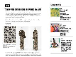 Clem is an inspiration to us all. Portfolio Two Designers Inspired By Art Clem Macleod