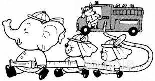 消防車イラストなら小学校幼稚園向け保育園向け家庭向けの
