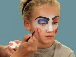 best thing 1 and thing 2 makeup for you how to paint a clown face for